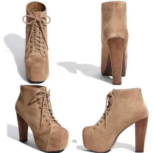 322f9bca06a Jeffrey Campbell Shoes - Jeffrey Campbell Lita Suede Boots EUC
